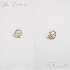 BVLA Jewelry - BVLA 14k yellow gold pearl